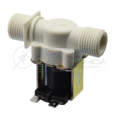 Elettrovalvola 12V per liquidi acqua acquario idroponica arduino Generico