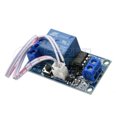 Scheda Relay Relè BISTABILE 24V Dc 10A Singolo 1 Scambio SONGLE SRD-24VDC-SL-C SPDT PCB  4,99 €