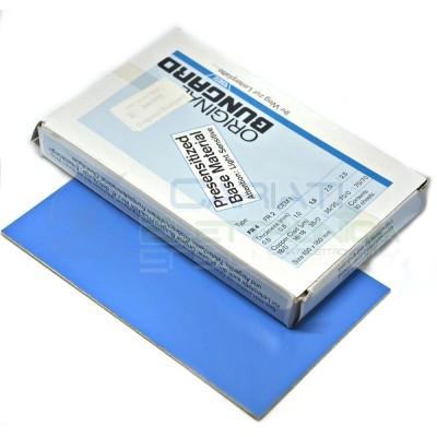 Basetta Presensibilizzata 70um 100 X 160 mm Mono Faccia Scheda Vetronite BUNGARD