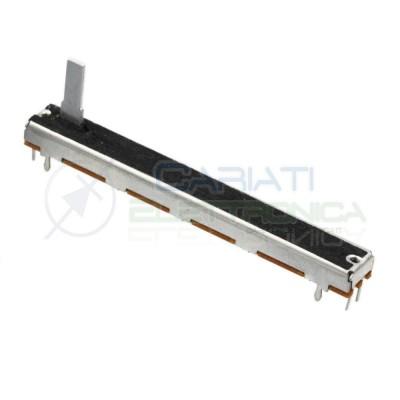 Potenziometro slider mono a slitta lineare 75mm 5kohm 5k B5K Mixer Audio  2,80€