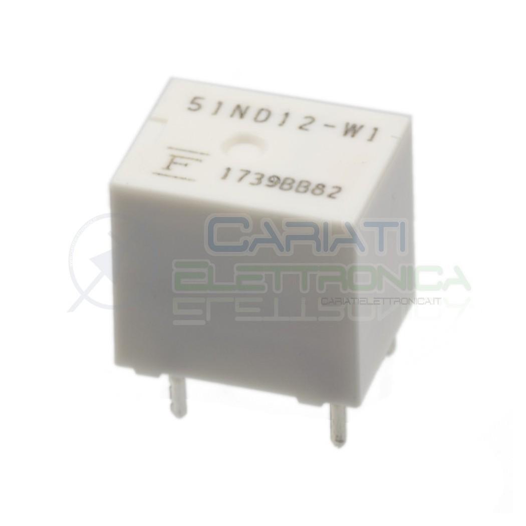 Relè singolo scambio 12V 25A FBR51ND12-W1 51ND12-W1 SPDT 12Vdc Fujitsu Fujitsu 1,79€