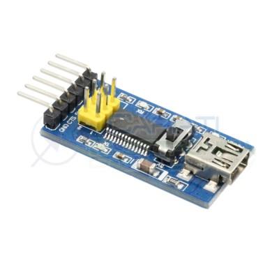Modulo shield FT232RL adattatore TTL seriale UART Arduino Programmer Bootloader Generico 3,69€