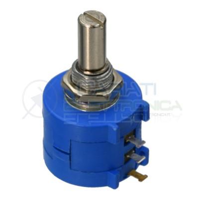 Potenziometro Multigiro Trimmer 3590S 200 ohm 200ohm 3590S-201 Generico 3,09€