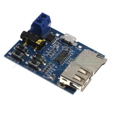 Scheda modulo riproduzione lettura file MP3 da chiavetta USB o micro SD Generico 5,00€