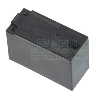 Relè JW2SN-DC12V 12V 5A doppio contatto DPDT Panasonic 8 pin JW2SNDC12V Panasonic