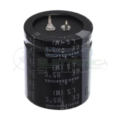Condensatore elettrolitico 12000uF 12000 uF 50V 85°C nichicon snap in 35x40mm Nichicon