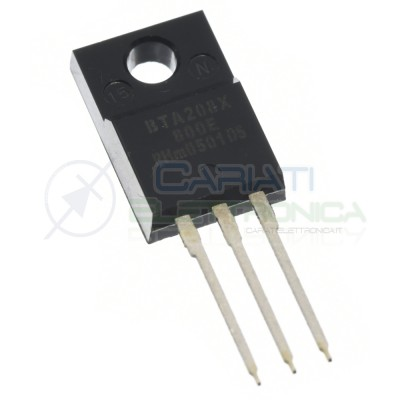 Triac BTA208X-800E BTA208X 800V 8A PhilipsPhilips