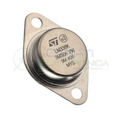 Regolatore di tensione lineare LM338K 5A Regolabile 1,2V a 32V 50W TO-3 2PinST MICROELECTRONICS