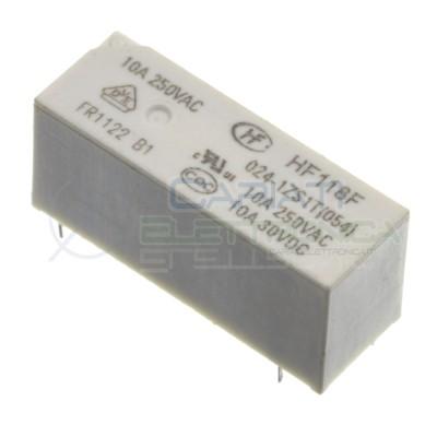 Relè relay Hongfa HF118F 024-1ZS1T bobina 24VDC SPDT 10A 5 pin HONGFA RELAY