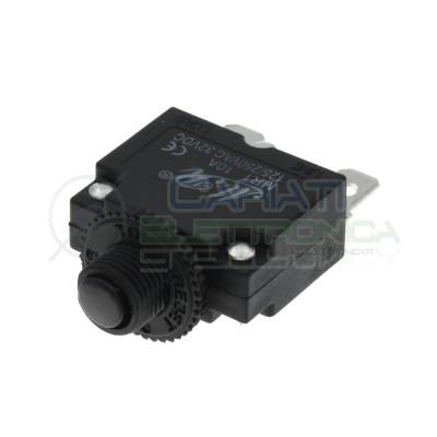 Fusibile magnetotermico Interruttore sovracorrente ripristinabile 10A 250V 32V Generico 1,99€