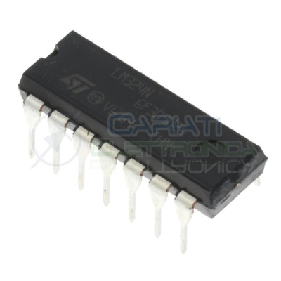 2 PEZZI LM324 LM324N Chip IntegratoST MICROELECTRONICS