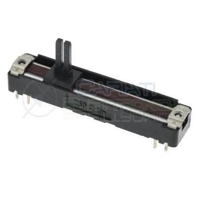 Potenziometro slider Mono a slitta Lineare 60mm 250ohm B250 Audio MixerCosocomi