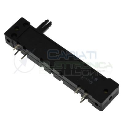 Potenziometro a slitta 47K stereo lineare 90mm 47kohm B473 slide Mixer Audio Cosocomi