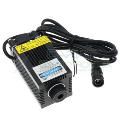 Laser Blu Viola 400/450nm 500mW Classe 3B 12V 500mA incisione cnc Generico