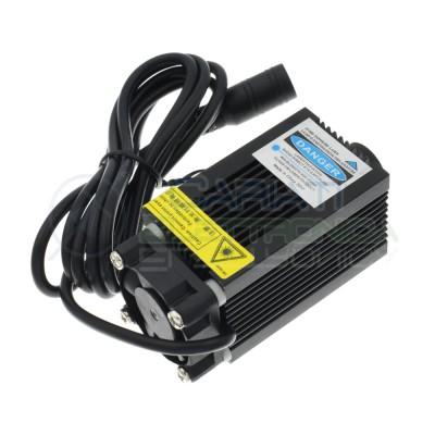Laser Blu Viola 400/450nm 500mW Classe 3B 12V 500mA incisione cnc Generico 55,90€