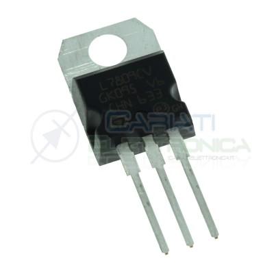 2 PEZZI 7809 L7809CV L7809CV LM7809 Regolatore Stabilizzatore di TensioneST MICROELECTRONICS