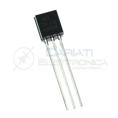 10 PEZZI LM7805 78L05 L7805 UA7805 Stabilizzatore di TensioneGenerico