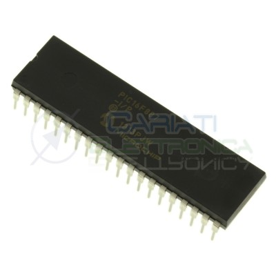 Integrato ic PIC16F887-I/P PIC16F887 16F887 Dip40 20MHz 8bit MicrochipMicrochip