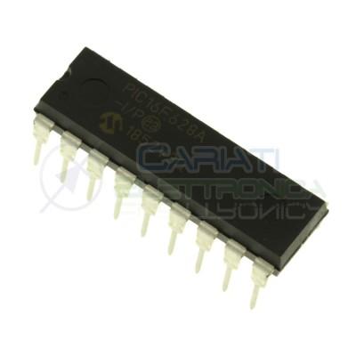 Integrato ic PIC16F628A-I/P PIC16F628A 16F628 Dip18 20MHz 8bit Microchip Microchip