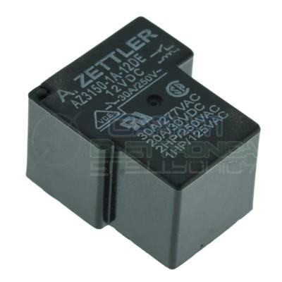 Relè singolo scambio 12V 30A AZ3150-1A-12DE SPST 12Vdc ZETTLER Zettler