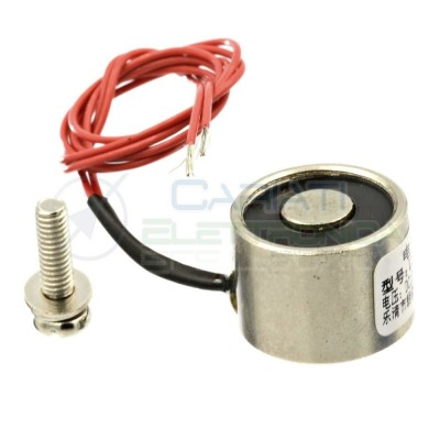 Magnete Elettromagnete Calamita elettrica 12V 4W 5kg P25/20Generico