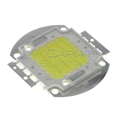 Chip power LED 30W Bianco freddo 6000K alta Luminosità ricambio faro