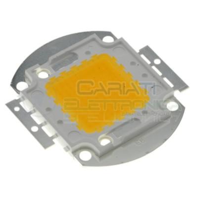 Chip power LED 100W Bianco Caldo 3000K alta Luminosità ricambio faro Generico