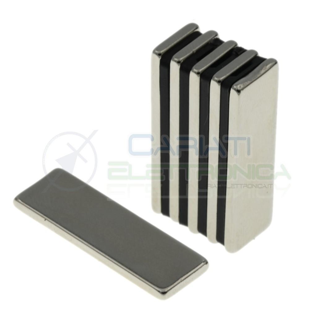 50 pezzi calamita magnete neodimo 30x10x2mm Potenti Fimo ceramica bomboniere Generico 17,59€