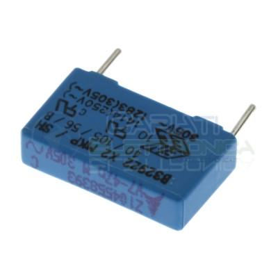 Condensatore in Poliestere 47nF 305Vac X2 Passo 15mm 20% B32922EPCOS