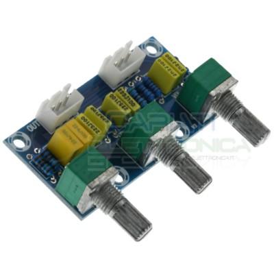 Preamplificatore scheda per controllo Volume Bassi e medi XH-M802 audio Generico