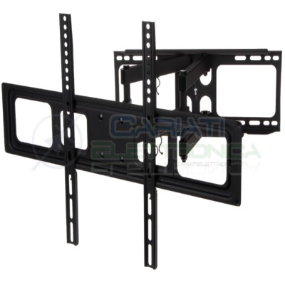 SUPPORTO STAFFA TV LCD TFT LED PLASMA DA 37 A 70 POLLICI 37 Generico 39,99 €