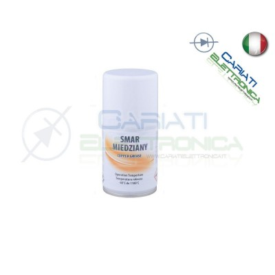 Lubrificante Spray 100ml adatto ad Alte Temperature Base Rame