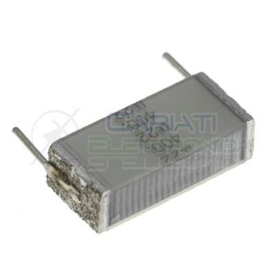 1 Pezzo Condensatore Poliestere 220nF 220 nF 400V Passo 15mm B32562 EPCOS