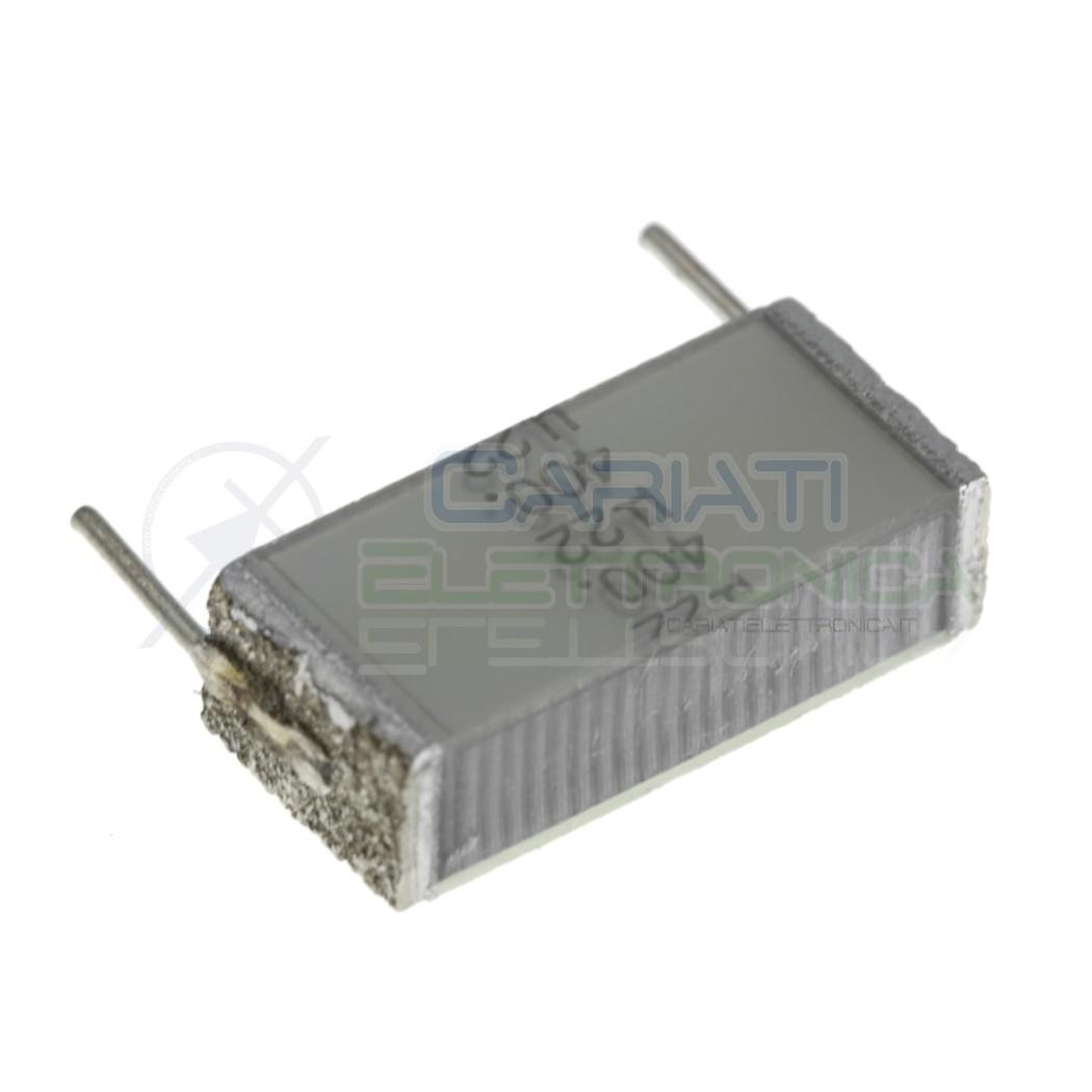 1 Pezzo Condensatore Poliestere 220nF 220 nF 400V Passo 15mm B32562 EPCOS 0,79€