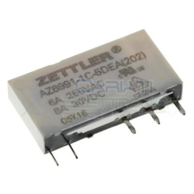 copy of Relè singolo scambio RELPOL RM699BV-3011-85-1012 bobina 12V SPDT 6A 250Vac 24VdcZettler