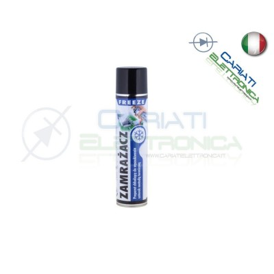 Spray Freezer Congelante Per Circuiti Pcb 150ml  5,00 €