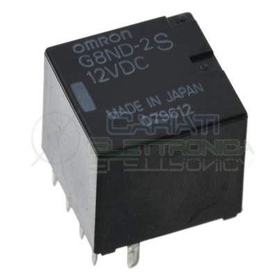 G8ND-2S Omron Coil12V Dc Spdt Out current 30A voltage 250Vac 30VdcOmron