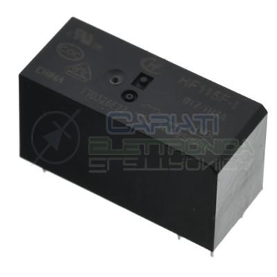Relè relay Hongfa HF115F-I 012-1H3A bobina 12Vdc Spdt 16A 6 pin HONGFA RELAY