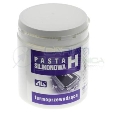 Pasta termoconduttiva termica H in barattolo Cpu 1 kg AgThermopasty
