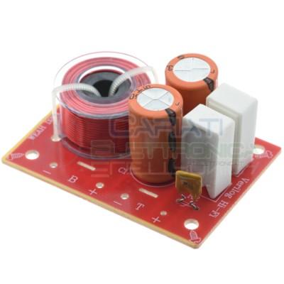 Filtro Crossover Audio Hi-Fi 2 Vie 80W 4-8 ohm 48Hz - 20KHz Generico