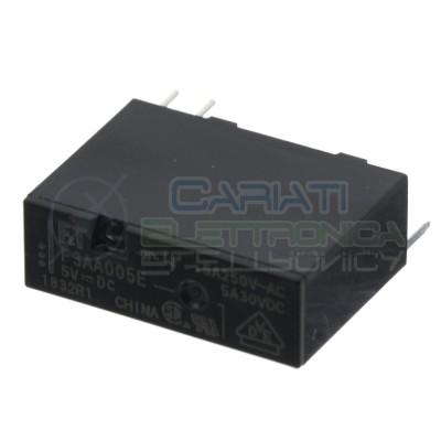 Relay Relè 5V Dc 5A Circuito Stampato Pcb F3AA005E FTR-F3AA005E-HA SPST Fujitsu