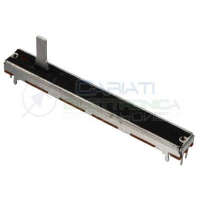 Potenziometro a slitta 10K stereo lineare 75mm 10kohm B10K slide Mixer Audio Cosocomi
