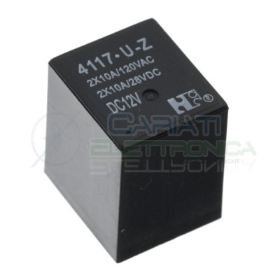 Relay 4117-U-Z 4117 12V 12Vdc automotive city Fiat Relay 5 PinsHONGFA RELAY