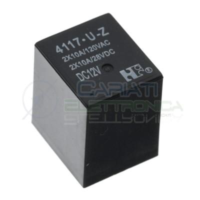 Relè 4117-U-Z 4117 12V 12Vdc servosterzo city Fiat Relay 5 Pin HONGFA RELAY