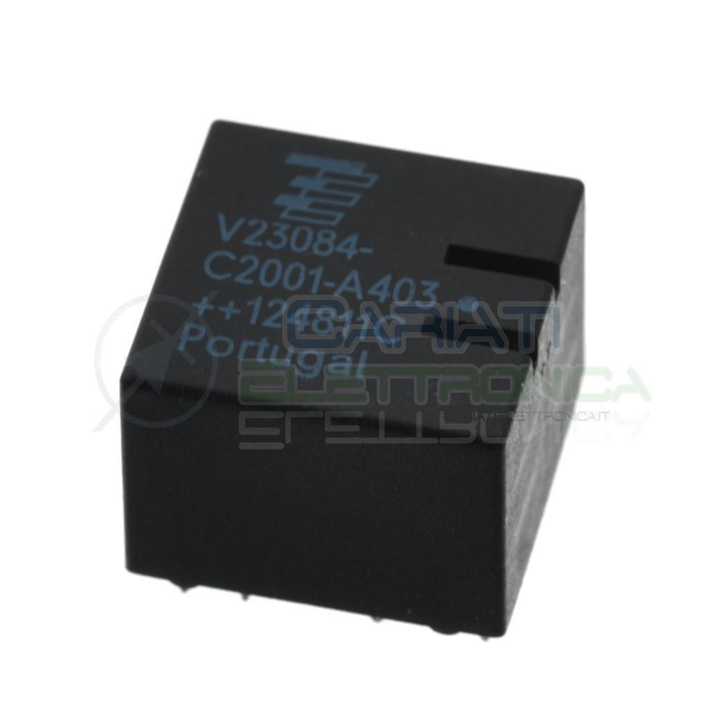 Relè V23084-C2001-A403 V23084C2001A403 Tyco Siemens 10 Pin Siemens