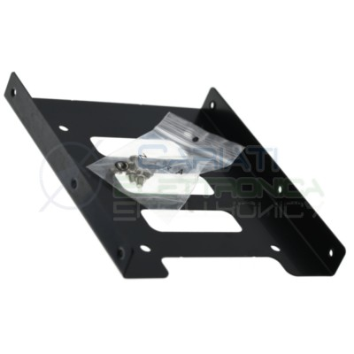 "Adapter Installation Frame for HDD SSD 2.5"" to 3.5"" with screwsGenerico"