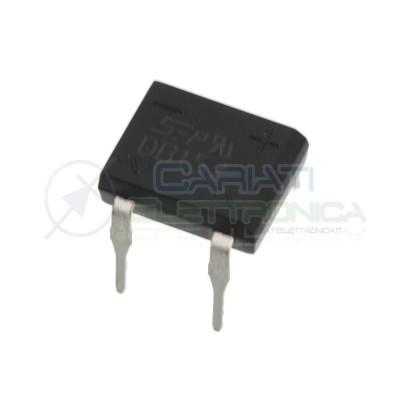 5 Pezzi DB157 1000V 1,5A Raddrizzatore a ponte diodi monofase ponte di graetz Sep