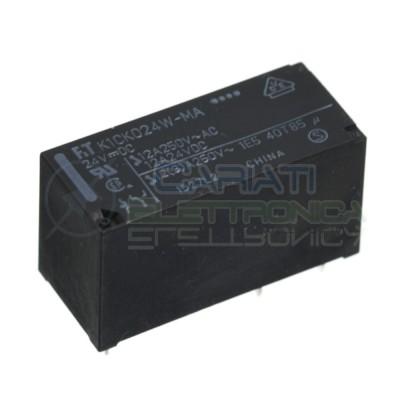 FTR K1CK024W-MA Relay coil 24V Spdt 12A 250V 5 PinsFujitsu