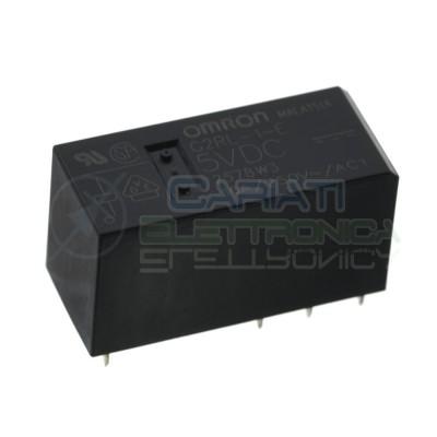 G2RL-1-E Relay voltage coil 5V Spdt 16A 250V 8 pinsOmron