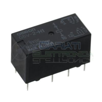 Omron G5V-2-H1 5Vdc Relè con Bobina 5V Dpdt doppio scambio 1A 8 pin Omron